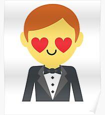 Groom Emoji   Poster