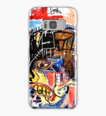 jean michel basquiat Skull poster Samsung Galaxy Case/Skin