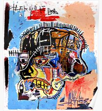jean michel basquiat Skull poster Poster