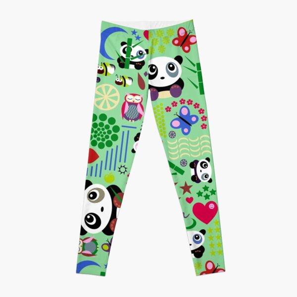 Kids Pandas, Butterflies and Owl Leggings