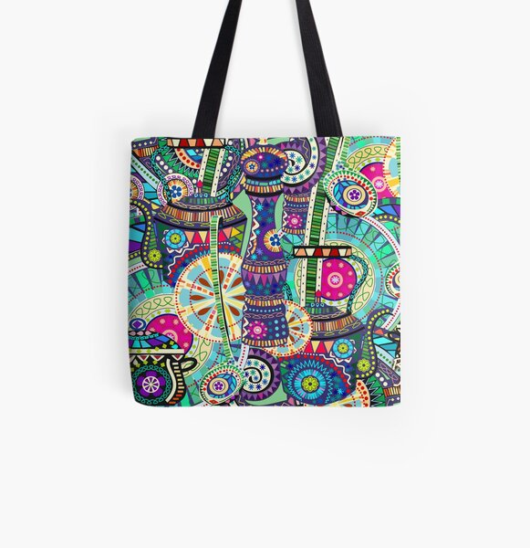 Carnival Food  All Over Print Tote Bag