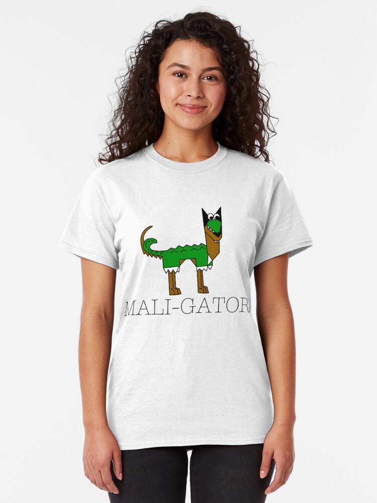 Alternate view of Maligator! Classic T-Shirt