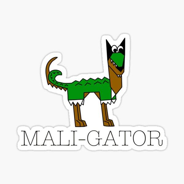 Maligator! Sticker