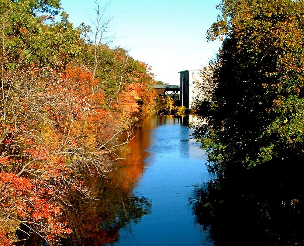 Autumn River by Cyndi Keeley