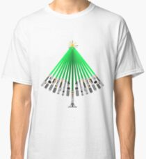 LightSaber Christmas Tree Classic T-Shirt