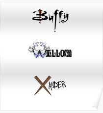 Buffy, Willow, Xander Poster