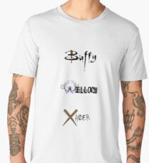 Buffy, Willow, Xander Men's Premium T-Shirt
