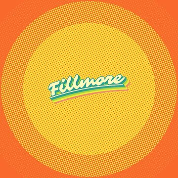 Fillmore | Retro Rainbow by retroready