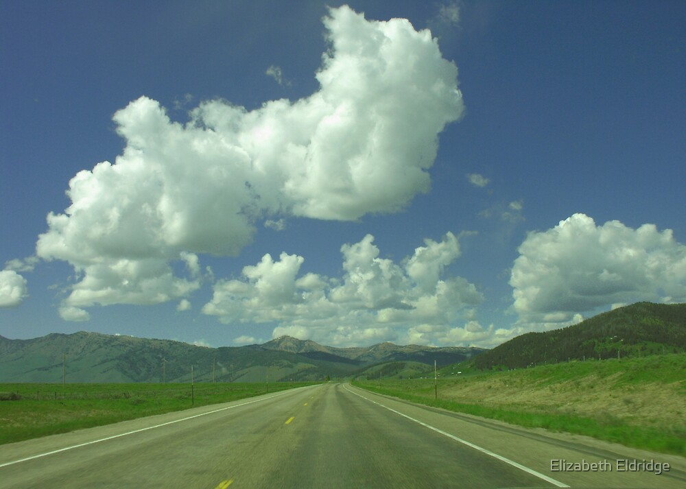 Entering Yellowstone by LizzieMorrison