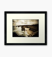Twelve Apostles, Great Ocean Road, Victoria Framed Print