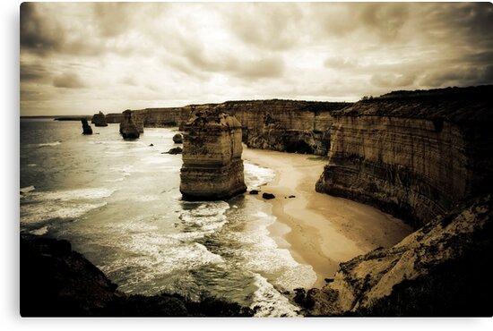 Twelve Apostles, Great Ocean Road, Victoria by Samantha Cole-Surjan