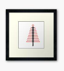 LightSaber Christmas Framed Print