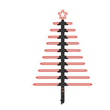 LightSaber Christmas by kcgfx
