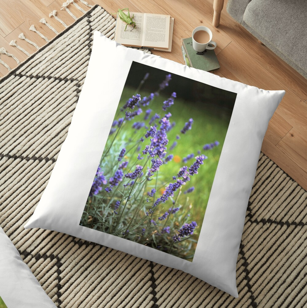 Der Lavendel Bodenkissen