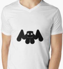 Marshmello Logo Men's V-Neck T-Shirt