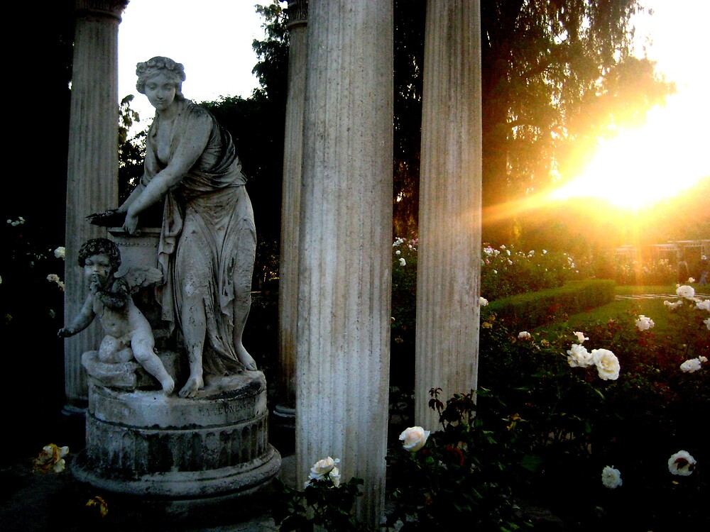 Garden Statue 1 by SamanthaJune