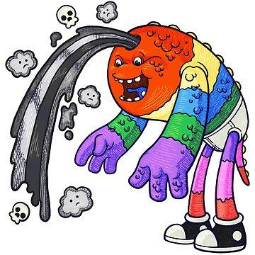 Colorful Doom & Gloom by randycrider