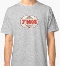 TWA Trans World Airlines USA Classic T-Shirt