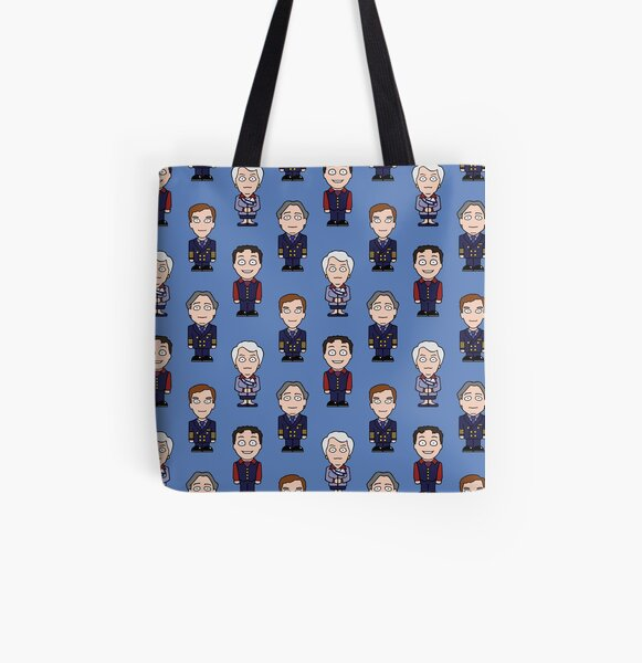 Repeating Cabin Pressure All Over Print Tote Bag