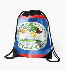 Belize-Flagge Rucksackbeutel