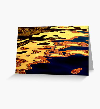 River faces Greeting Card