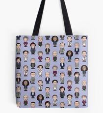 Repeating Sherlock and Friends Tote Bag