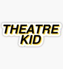 theatre kid Sticker