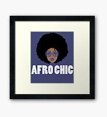 Afro Chic Framed Print