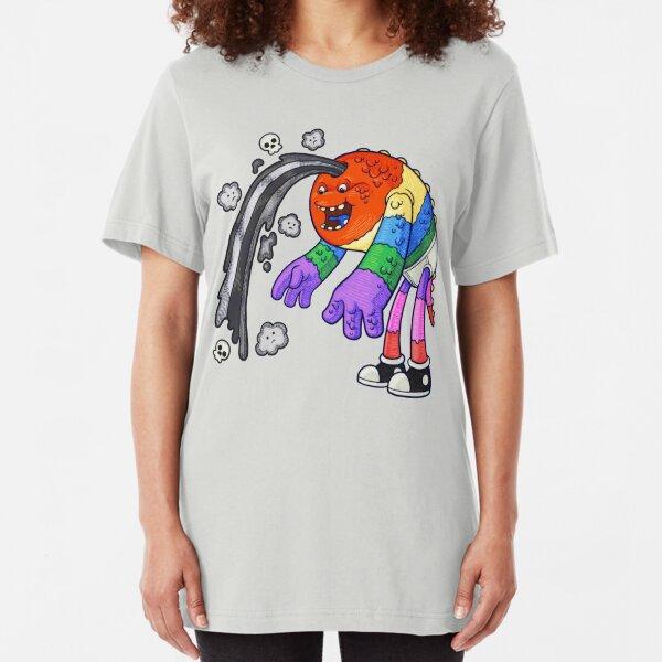 Colorful Doom & Gloom Slim Fit T-Shirt