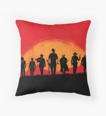Red Style Dead 2 Throw Pillow