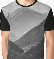 Mountains Graphic T-Shirt