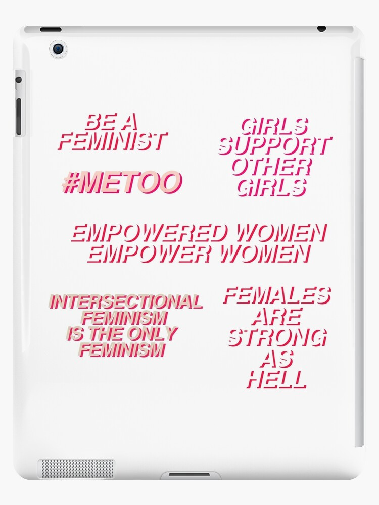 Feminist Quotes | Feminist Quotes Set Ipad Cases Skins By Annylands Redbubble