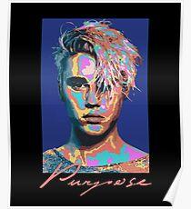 Justin Bieber Face Purpose Tour  Poster