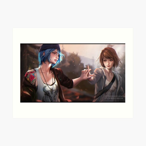 Chloe Life is Strange Art Print