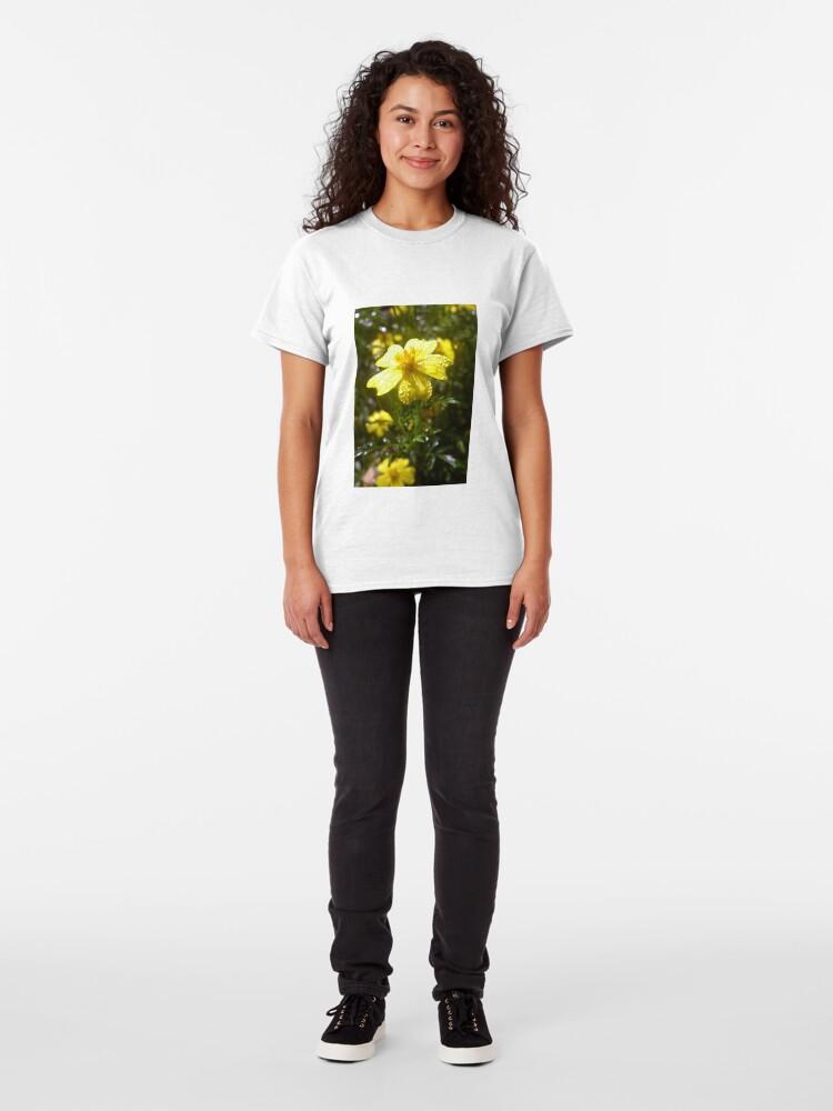 Alternative Ansicht von Eßbare Gewürz-Tagetes Classic T-Shirt