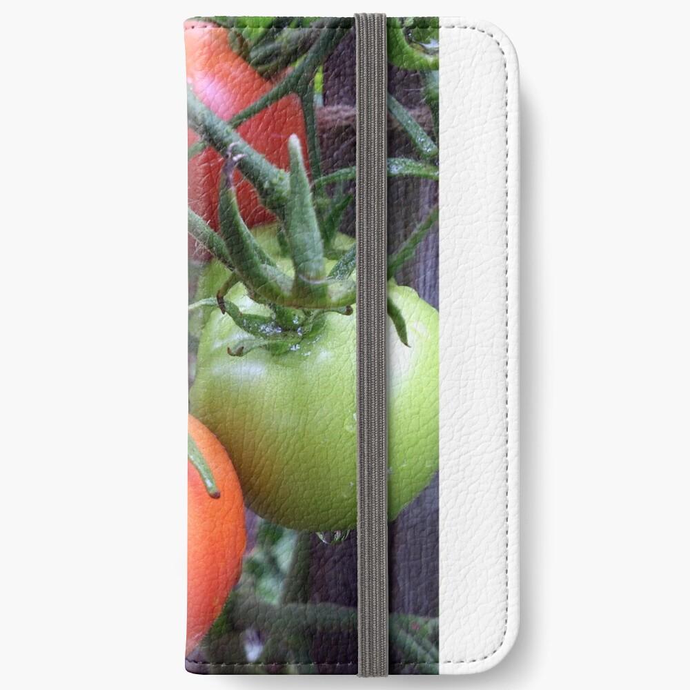 Leckere Tomaten iPhone Flip-Case