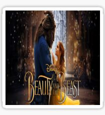 Beauty and the Beast Merchandise and Decor Sticker