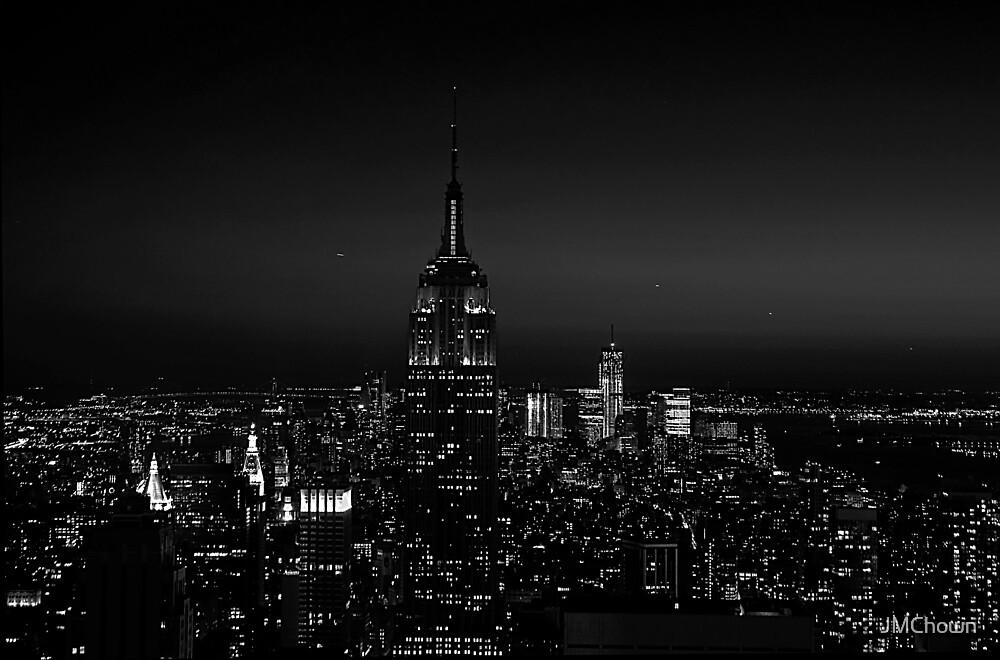 Manhattan at Night by JMChown