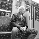 U-Bahn guy by Adam Irving