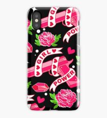 Roses and power iPhone Case/Skin