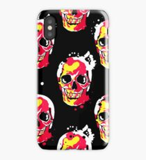 fire skull iPhone Case/Skin