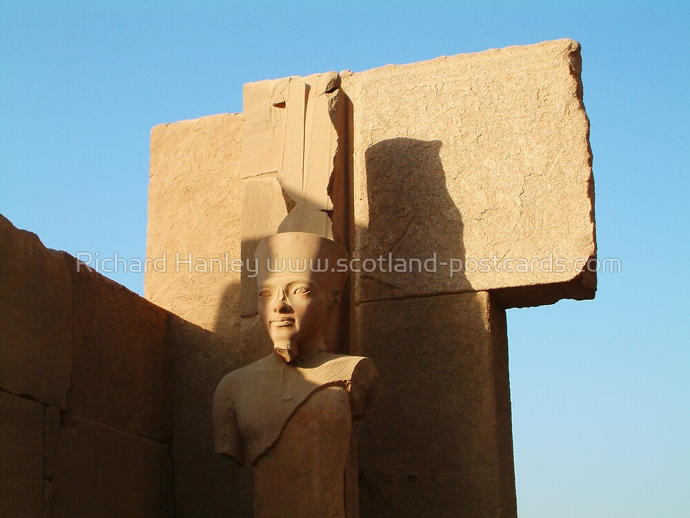 Egyptian Ruin by Richard Hanley www.scotland-postcards.com