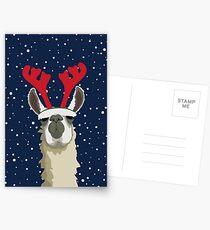 Llet It Snow Postcards