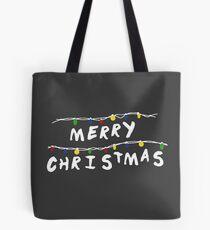 Merry Stranger Christmas Bolsa de tela