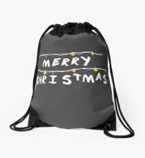 Merry Stranger Christmas Mochila de cuerdas