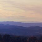 Blue Ridge Mountains by Paula Bielnicka