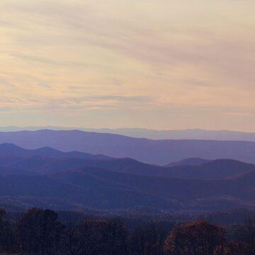 Blue Ridge Mountains by pinkangel840