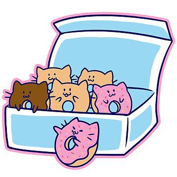 Donut Kitties by KershawDesigns