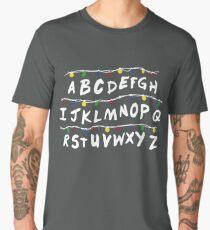 Stranger Things Code Camiseta premium para hombre