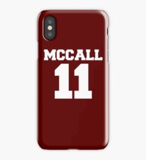 Scott McCall #11 iPhone Case/Skin